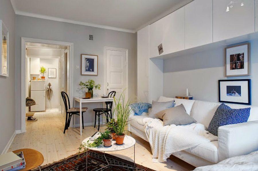 Hiperstock ideas para una casa de 40 metros cuadrados for Salon de 40 metros cuadrados